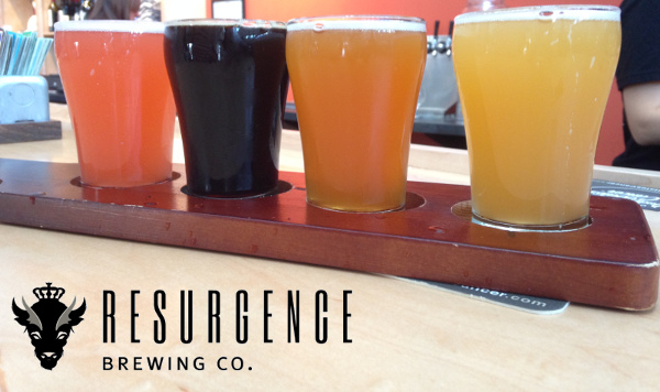 Resurgence Beer Flight