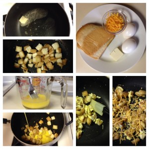 Breakfast Sandwich Scramble Ingredients