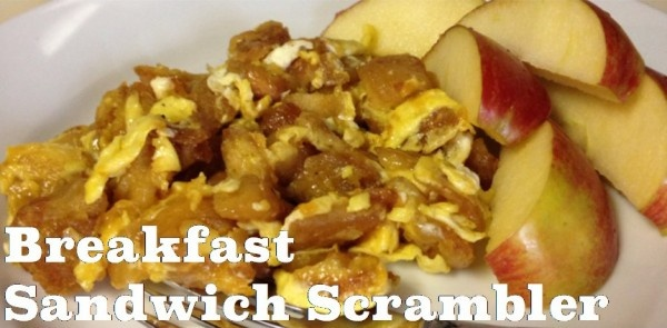 Breakfast Sandwich Scramble
