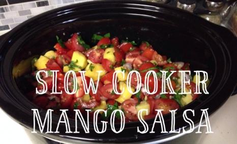 Slow Cooker Mango Salsa
