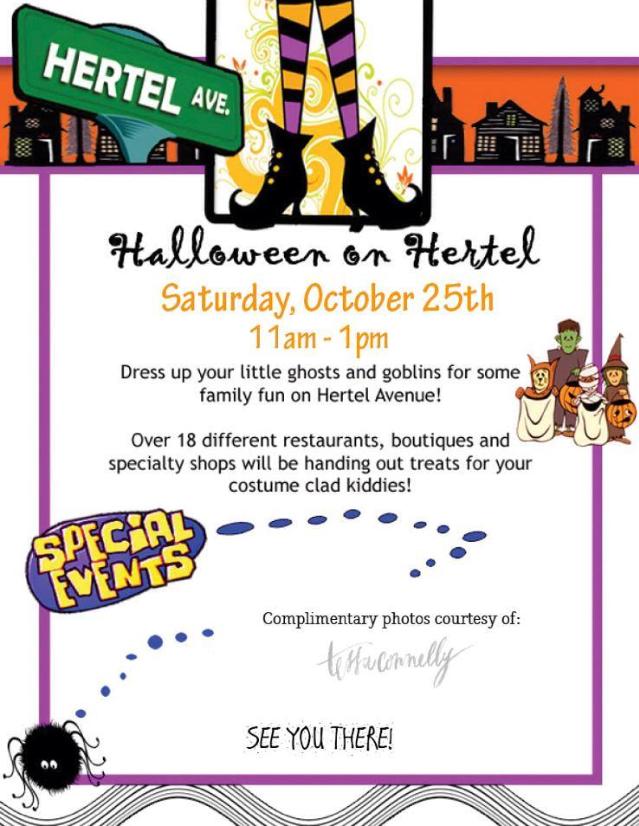Halloween on Hertel 2014
