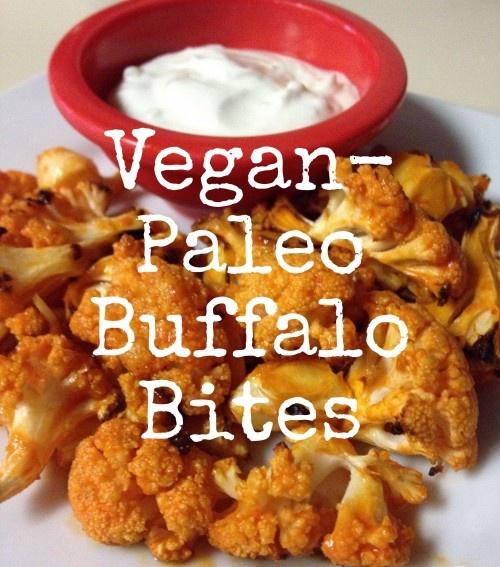 Vegan-Paleo Buffalo Bites
