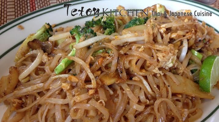 Pad Thai Teton Kitchen