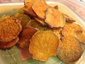Sweet Potato Chips Paleo