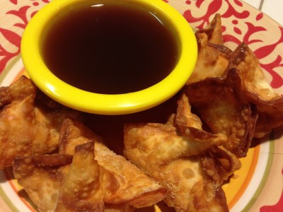 Amino Sweet and Sour Sauce with Rangoon