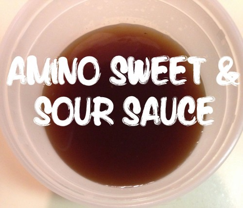 Amino Sweet and Sour Sauce