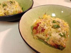 Vegetarian Spaghetti Squash Bake