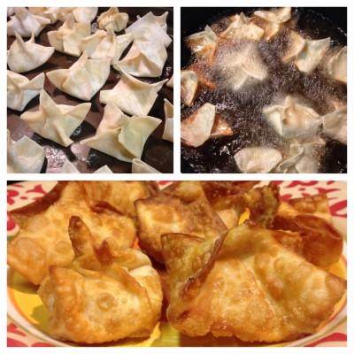 Lets Get Cooking Tuna Rangoon