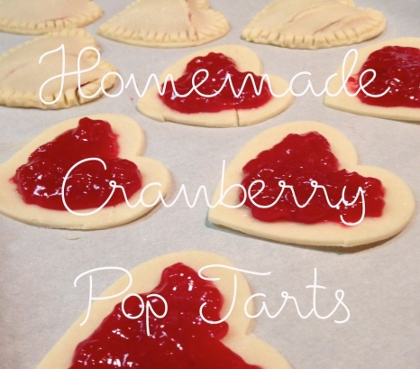Homemade Cranberry Pop Tarts