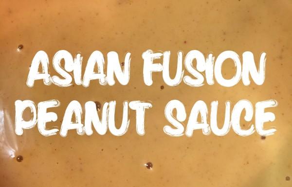 Asian Fusion Peanut Sauce