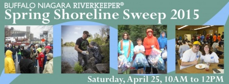 Buffalo Niagara RiverKeeper Spring Shoreline Sweep 2015