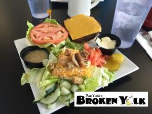 Broken Yolk Veggie Burger