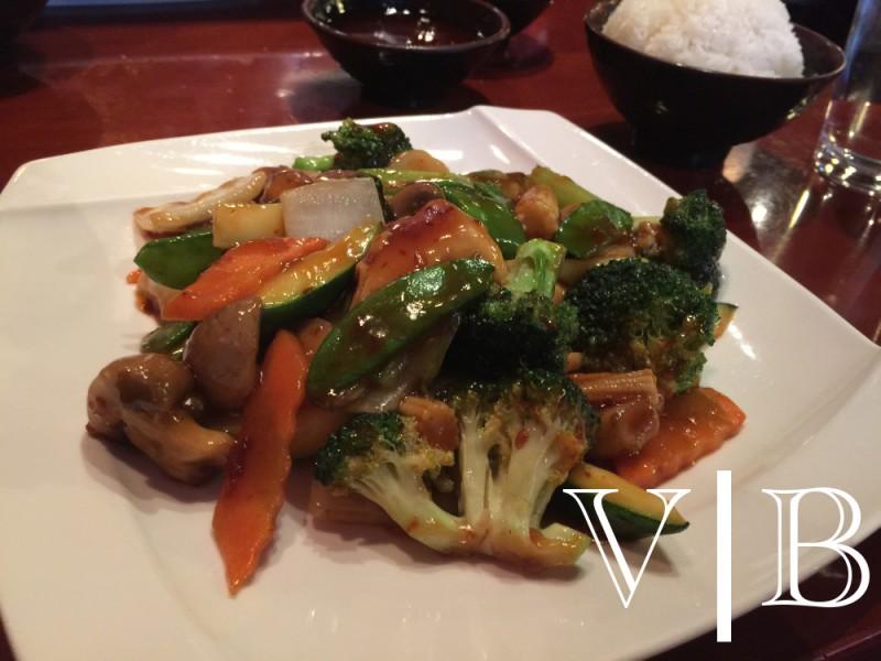 Tokyo mixed veggies